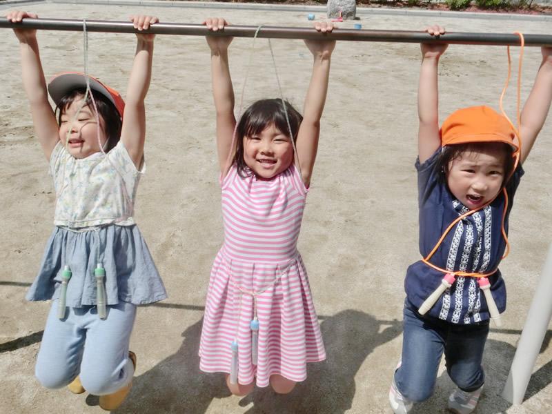 西新の保育園 にしじん森の子保育園|外遊び