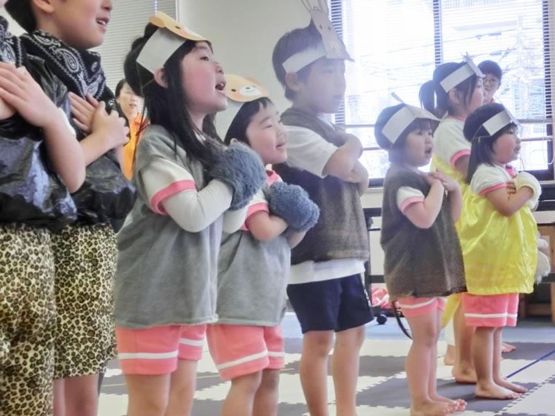 西新の保育園 にしじん森の子保育園 ひなまつり・生活発表会・卒園式