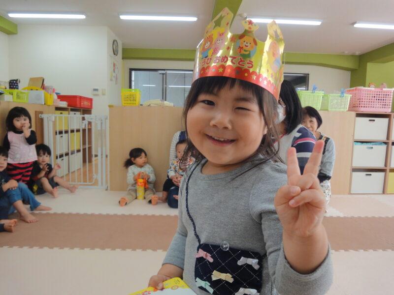 お誕生日会(•ө•)♡