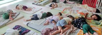 12:30〜 お昼寝(0~3歳児)
